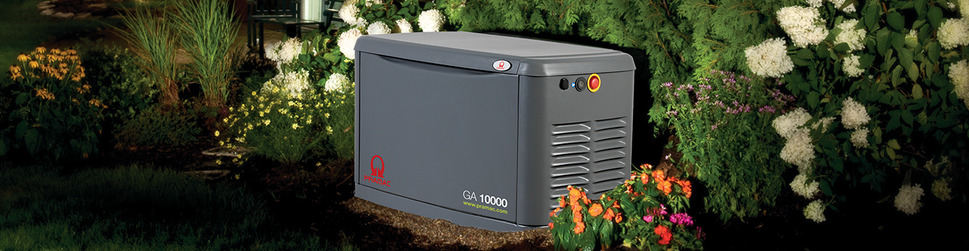 Газовые генераторы Pramac. Газовые генераторы для дачи, коттеджа, загородного дома.