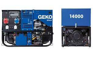 Бензогенератор Geko 14000 ED-S/SEBA S
