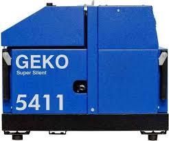 Электрогенератор Geko 5411 ED-АA/HHBA SS