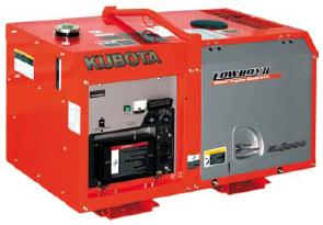 Электрогенератор дизельный Kubota GL 6000