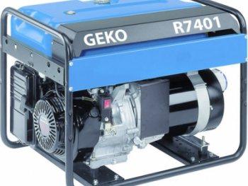 Электрогенератор Geko R7401 E – S/HHBA